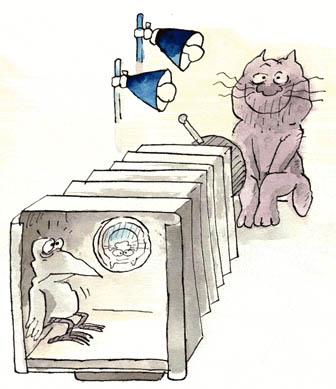 Карикатура, Игорь Алешин