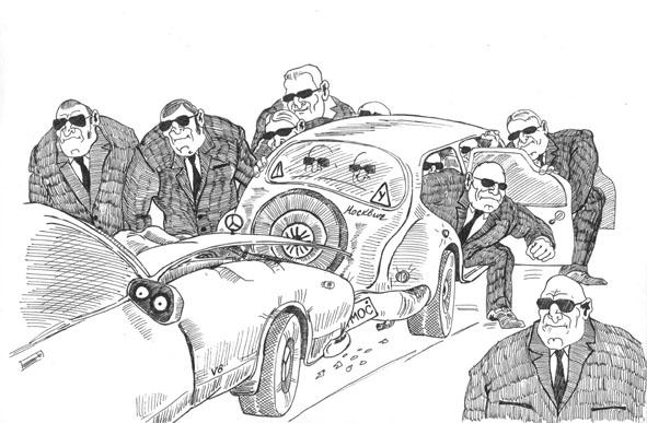 Карикатура, Владимир Станкевич