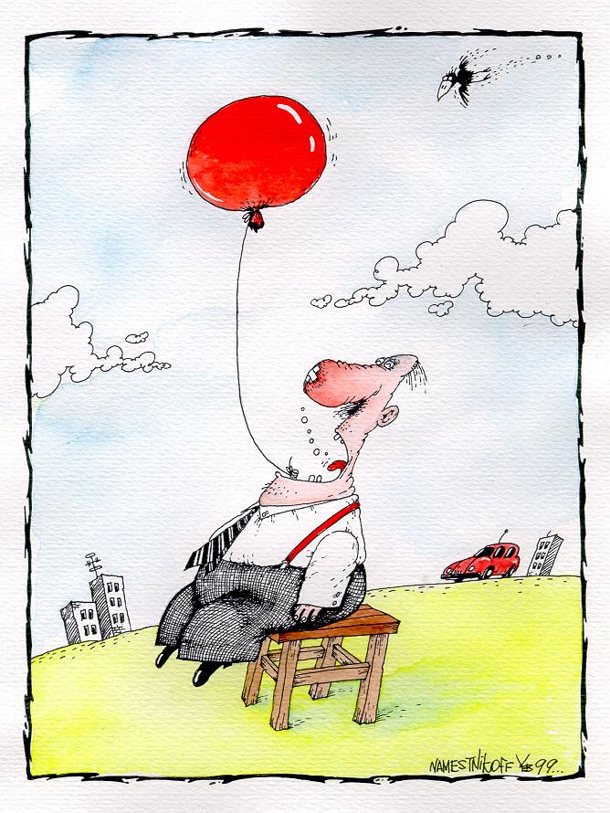 Карикатура, Юрий Наместников