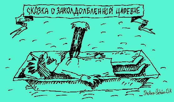 Карикатура, Сергей Стельмашонок