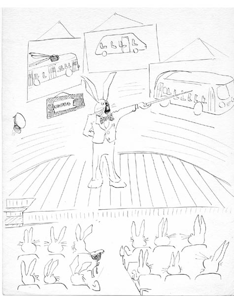 Карикатура, Евгений Фаин