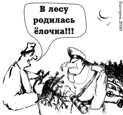 Карикатура, Владимир Быстров