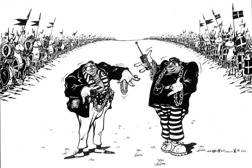 Карикатура, Сергей Горобец