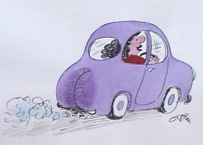 Карикатура, Олег Теслер