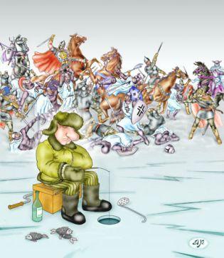 Карикатура, Андрей Рыжов