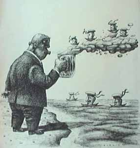 Карикатура, Владимир Буркин