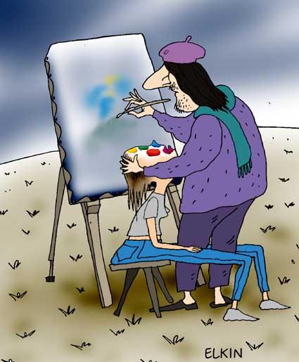 Карикатура, Сергей ілкин