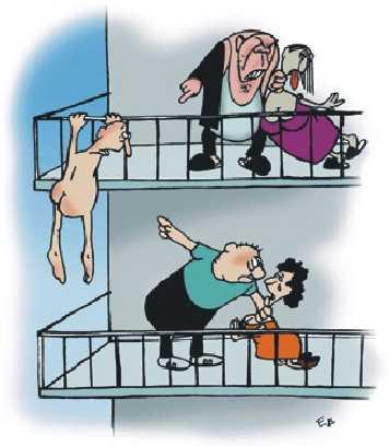 Карикатура, Елена Ткаченко