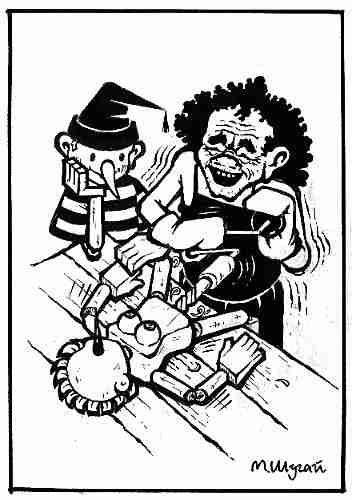 Карикатура, Михаил Шугай