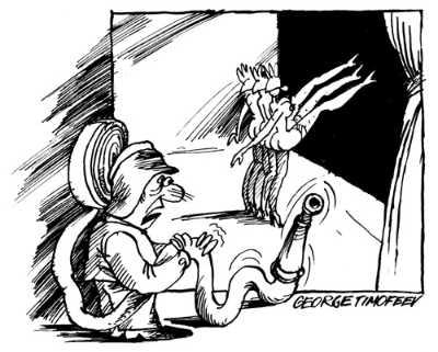Карикатура, Георгий Тимофеев