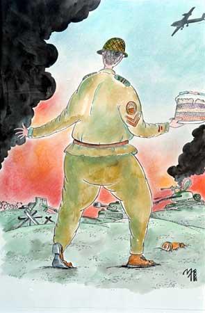 Карикатура, Леонид Мельник