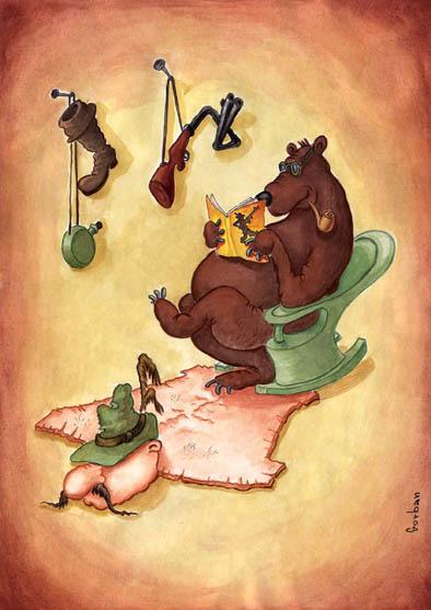 Карикатура, Владимир Горбань
