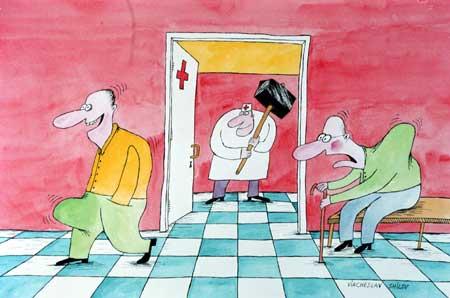 Карикатура, Вячеслав Шилов