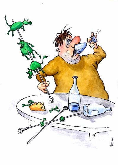 Алкоголизм вредит душе человека