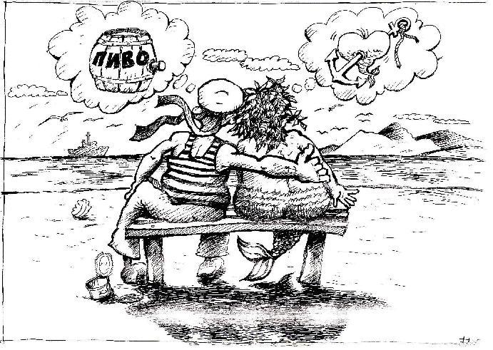 Карикатура, Борис Латышев
