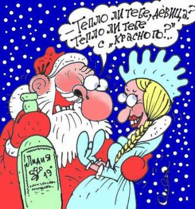 Карикатура, Олег Горбачев