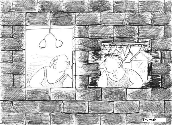 Карикатура, Михаил Тетиевский