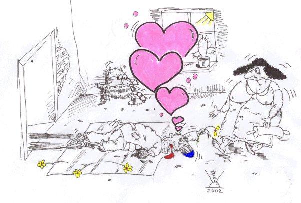 Карикатура, Владимир Щетинин