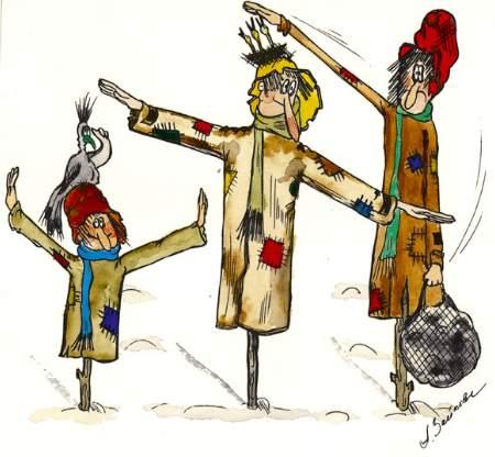 Карикатура, Алла Зайкова