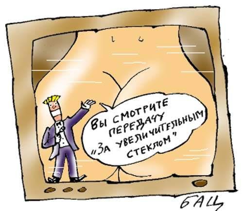 Карикатура, Борис Цыганков