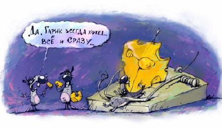 Карикатура, Александр Храмцов