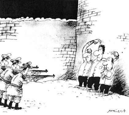 Карикатура, Микола Воронцов