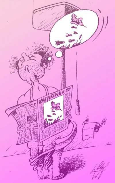 Карикатура, Олег Локтев