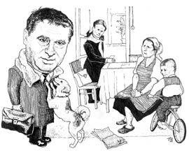 Карикатура, Андрей Волков