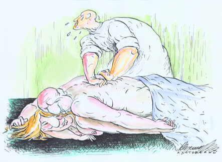 Карикатура, Алексей Кустовский