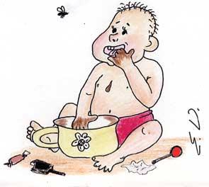 Карикатура, Елизавета Денисова
