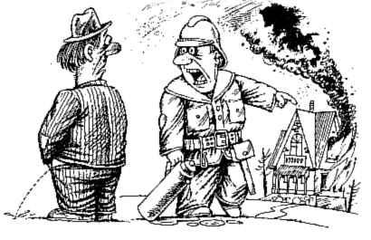 Карикатура, Владимир Уборевич-Боровский