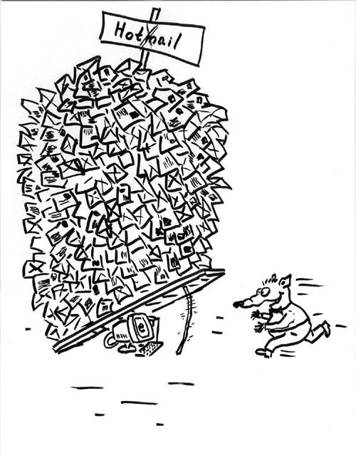 Карикатура, Андрей Дубчак