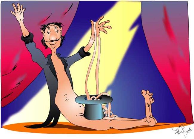 Карикатура, Алексей Молчанов