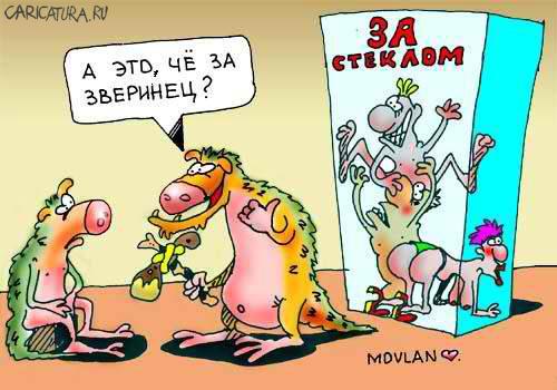 Карикатура, Владимир Морозов