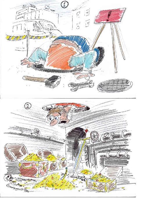Карикатура, Александр Блохин